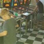 Playing some Pinball