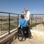 Day tour Jerusalem - Accessible - Over looking from Mt. of Olives