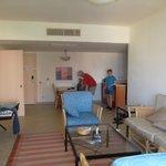 Our sad luxury senior suite...