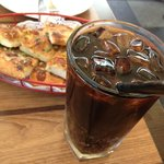 drinks and Pizza Garlic Bread (Appetizer)