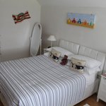 Seaside room with kingsize bed