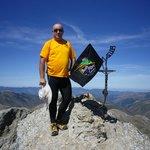 En la cima del Pico Urbión