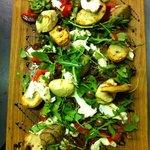 Vegetarian taste board