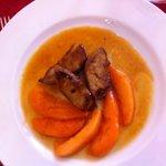 foie gras au melon