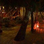 Dining and hammocks