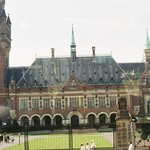 The Peace Palace in The Hague HOLLAND