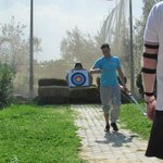 Archery activity at the hotel