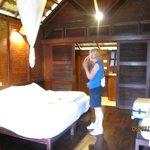 Bedroom, Luang Say Lodge