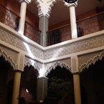 Inside the Riad