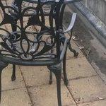 rusty balcony furniture