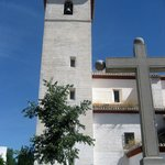 Torre de la iglesia de San Nicolás  ubicada en la plaza del mirador