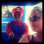 Crazy train with Mario