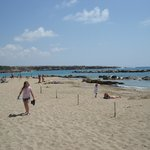 Sandy Coral Bay Beach off Sea Caves Avenue