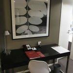 Desk in apartment