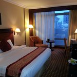 Regular room facing the poolside (back of the hotel i suppose)