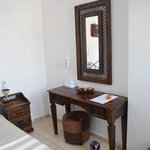 facilities in small elegant room by the swimming pool