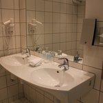 Bathrooms do not have bathtub, but a spacious shower