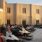 In winter you can rent snowmobile and necessary equipment