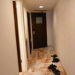 Corridor in room