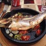 Sea bass fish .. Ymy ymy in my tummy :)