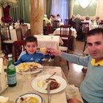 Jantar com meu Filho em Montecatini!