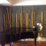 Sala comune con pianoforte