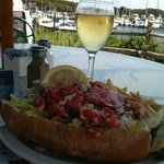 Lobster Roll Perfection at Brax!