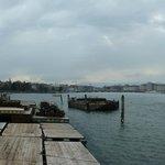 Zicht op Genève, het meer & kade