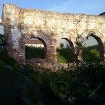 Unas ruinas en el Cortijo Miraflores