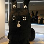 Giant Mascot in waiting lobby. Good for photoshooting XD