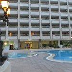 Pool - see large balconies
