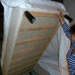 Man darf nur nicht unters Bett schauen....