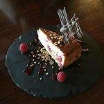 Baked Cranachan Cheesecake