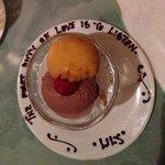 Personalized dessert