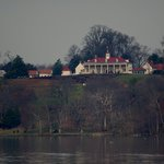 View of the mansion from the Potomac