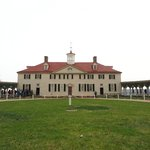 The Mansion; it was not as symmetrical as George Washington had wanted