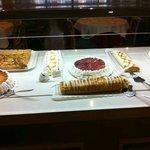 Savonds als toetje heerlijk buffet