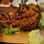 Pork Knuckle (part of Brotzeit Platter with ribs)