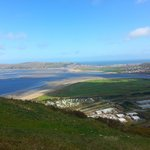 View from the walk up Conwy Mountain from Gwynfryn B&B