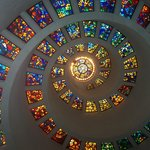 Beautiful stain glass design