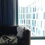 Vue de la chambre 601