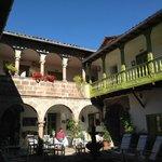 Courtyard of Ninos Hotel