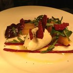 FIVEMILETOWN GOAT'S CHEESE SALAD, SLOW COOKED BEETROOT