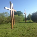 Cross algined