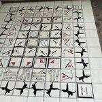 Some intreresting tile-work