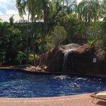 The Pool waterfall