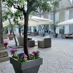 One of the delightful courtyards - a haven of peace