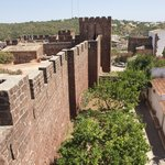 Silves Castle Walls