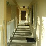 Clean, open walkway