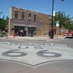 """Standing on the corner in Winslow, Arizona...."""